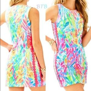 Lilly Pulitzer Mila shift in neon sparkling sands